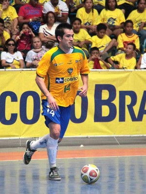 Rafael Rato, ala Brasil e InterMovistar Espanha futsal (Foto: Zerosa Filho / CBFS)
