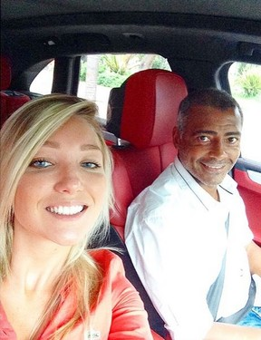 Dixie Pratt e Romário (Foto: Instagram/Reprodução)