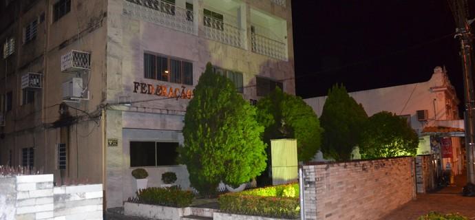 Sede da Federação Paraibana de Futebol (Foto: Amauri Aquino / GloboEsporte.com/pb)