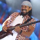 Chiclete mostra experiência de 30 anos de música (Maurício Vieira/G1)
