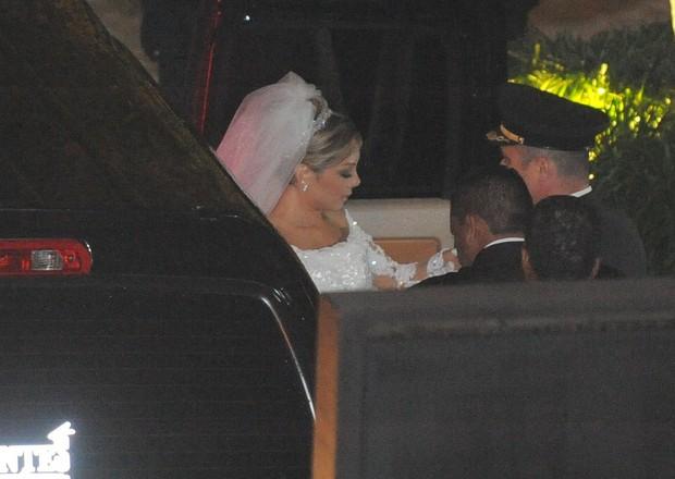 Noiva de Edson (Foto: Francisco Cepeda / AgNews)