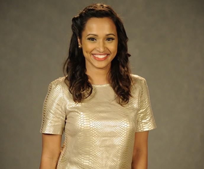 Thaissa Carvalho também é convidada do programa (Foto: TV Globo)