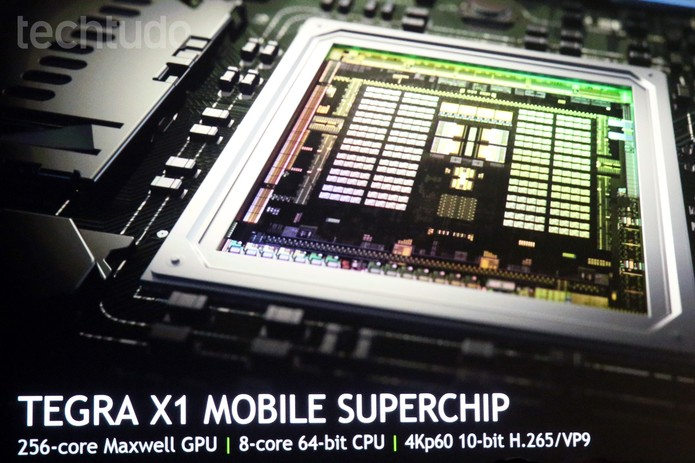 Tegra K1 promete trazer alta performance sem diminuir o tempo de bateria do smart (Foto: Isadora Díaz/TechTudo)