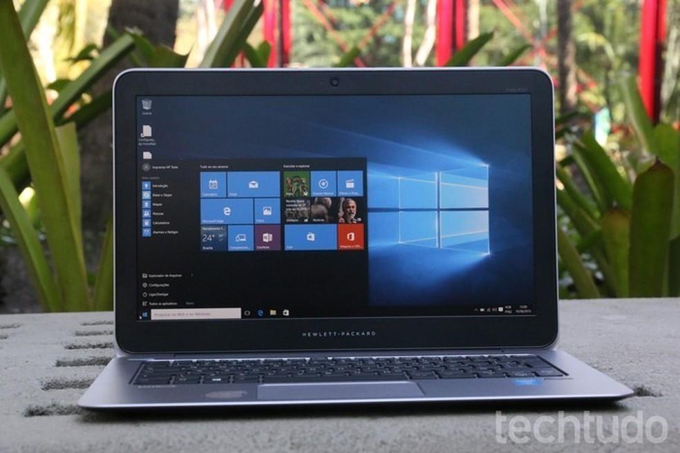 Veja como melhorar o desempenho do computador com Windows 10  (Foto: Zíngara Lofrano/TechTudo)