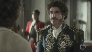 Pedro contrata Joaquim como chefe de sua guarda pessoal