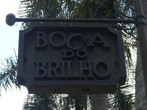 Boca do Brilho funciona no Centro de Curitiba há 14 anos (Foto: Fernando Castro/G1)