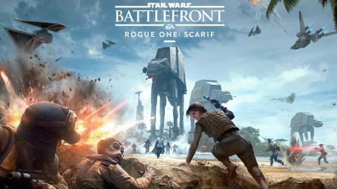 Star Wars Battlefront: Scarif é o último DLC da temporada (Foto: Divulgação/EA)