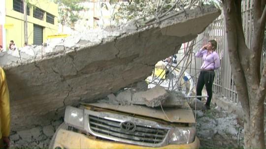 Explosões em empresa de valores danificaram até casas vizinhas