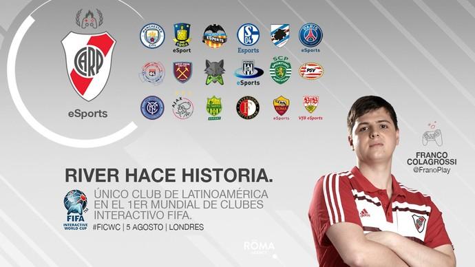 River Plate; Mundial de Clubes; Fifa (Foto: Divulgação / River Plate)