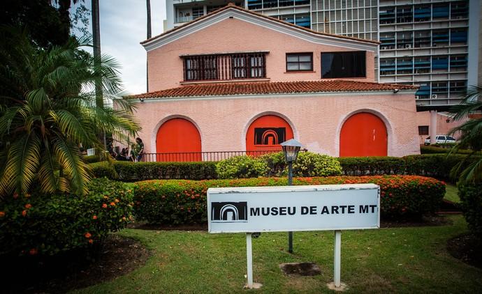 Museu de Arte de Mato Grosso, em Cuiabá (Foto: Reprodução/ internet)