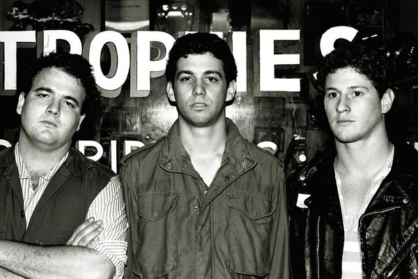 D. Boon, à esquerda, e o Minutemen (Foto: Reprodução)