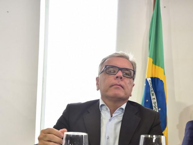 André Garcia, secretário de Segurança Pública do Espírito Santo  (Foto: Marcelo Prest/ A Gazeta)