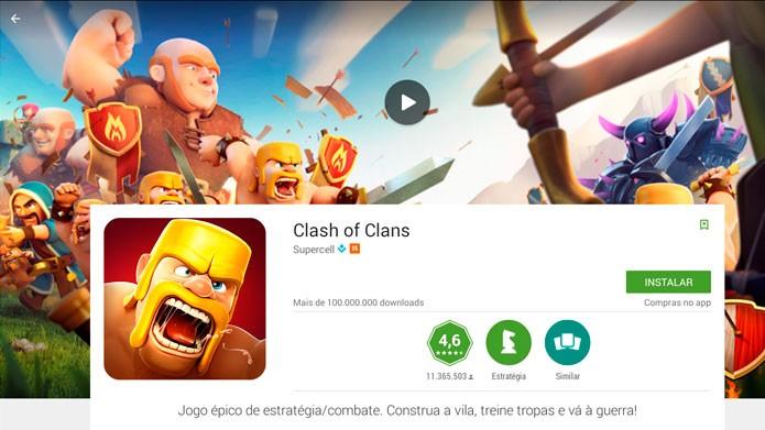 Abra a página do jogo e clique em Instalar (Foto: Reprodução/Tais Carvalho)