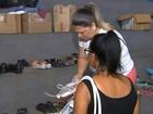 Voluntários preparam ceia natalina para famílias em Marília