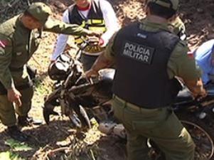 santarém moto corpo desaparecido (Foto: Reprodução/ TV Tapajós)