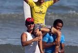 Guilherme Silva vence primeira etapa do Circuito A Tribuna de Surfe Colegial