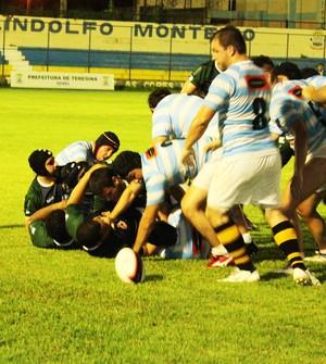 Piauí Rugby vence time do Ceará e vai para final da Liga Nordeste (Foto: Josiel Martins )