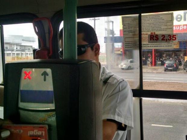 Tarifa de R$ 2,35 no transporte público passou a vigorar nesta segunda-feira em João Pessoa (Foto: Wagner Lima/G1)