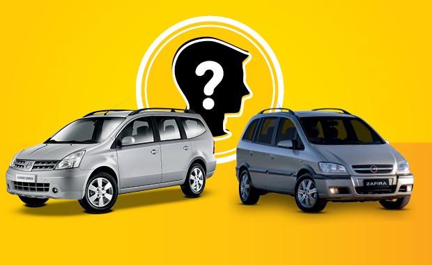 Qual carro eu compro Grand Livina ou Zafira (Foto: Reprodução)