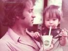 Danielle Winits posta foto com o pai e faz homenagem a ele em rede social