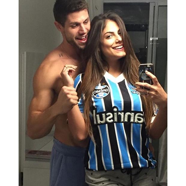 Jonas e Mari Gonzales (Foto: Reprodução/Instagram)