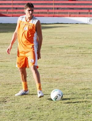 Glaybson, lateral do Campinense (Foto: Magnus Menezes / Jornal da Paraíba)