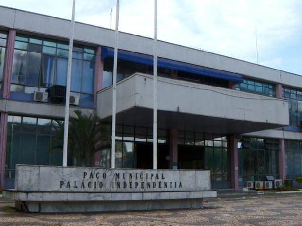 Palácio da Independência, sede da Prefeitura de Valinhos  (Foto: Reprodução EPTV)