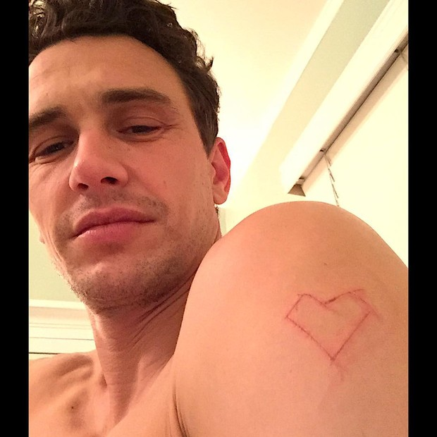 James Franco (Foto: Instagram / Reprodução)