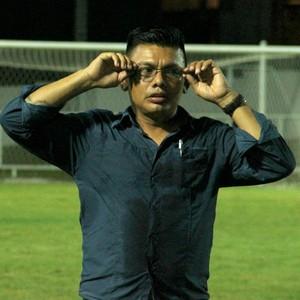 Robson Sá técnico do Borbense (Foto: Isabella Pina)