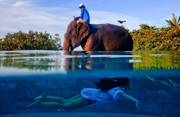 O americano baseado no Vietnã Justin Mott conseguiu o prêmio máximo na categoria de 'Imagem individual', que tinha o tema 'Extraordinário' - A verdadeira casa de Twila, Phuket, Tailândia (Foto: Justin Mott/www.tpoty.com)