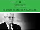 Revista americana lista Janot entre os 100 pensadores globais de 2015