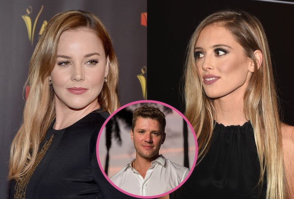 Ryan Phillippe, Abbie Cornish e Paulina Slagter (Foto: Getty Images)