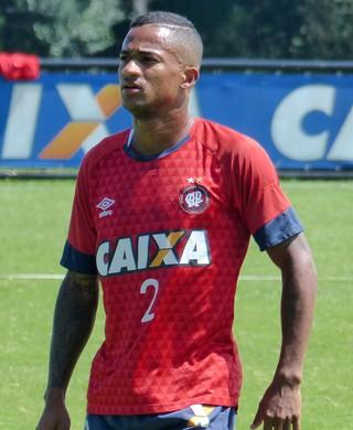 Eduardo Atlético-PR (Foto: Monique Silva)