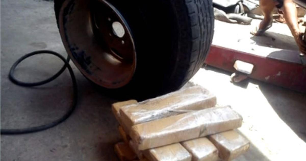 Trio é preso com maconha dentro de pneu estepe em Araçoiaba da ... - Globo.com