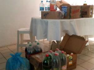 Instituição recebe alimentos da TV Gazeta (Foto: Divulgação/TV Gazeta)