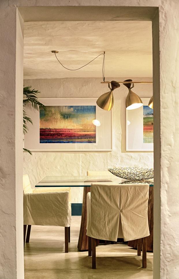 Casa de pedra aberta à praia de Florianópolis