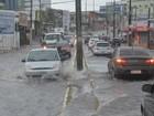 PB tem véspera de Natal chuvosa e registra alagamentos e desabamentos