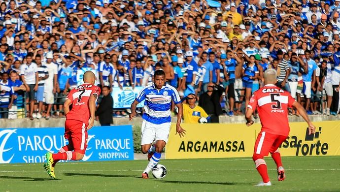 CSA x CRB - final Campeonato Alagoano - Luís Soares (Foto: Ailton Cruz/Gazeta de Alagoas)
