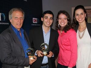 Antonio Brasil, Thales Camargo, Renata Bassani, e Simone Feldmann (Foto: Divulgação)