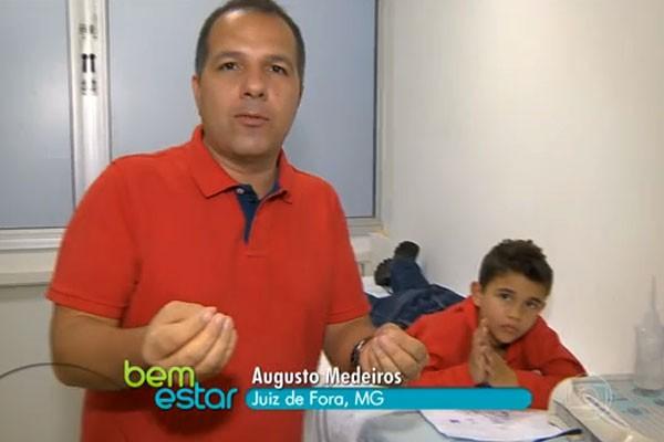 Matéria produzida pela TV Integração de Juiz de Fora foi destaque no Bem Estar (Foto: Divulgação)