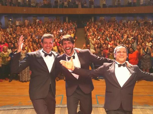 Darson em cena do espetáculo  'Homens no Divã' (Foto: ELIANA SOUZA)