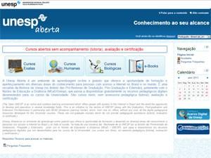Unesp Aberta, videoaulas, aulas em vídeo (Foto: Reprodução)