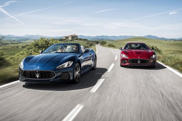 Maserati GranTurismo e GranCabrio 2018 (Foto: Divulgação)