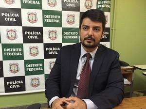 Delegado-chefe da DPCA, Wisllei Salomão (Foto: Gabriel Luiz/G1)