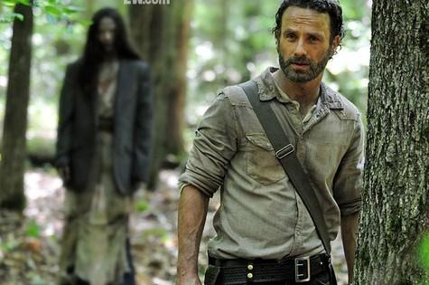 Cena da quarta temporada de 'The walking dead' (Foto: Reprodução de internet)