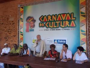 Novidades para o carnaval no Pelourinho foram anunciadas nesta quinta-feira (13), em Salvador (Foto: Ruan Melo/ G1)