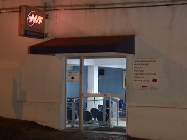 Vítima foi encaminhada ao Hospital São Francisco, em Americana (Foto: Reprodução/EPTV)