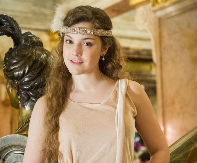 Alice Wegmann será a doce Cecília em 'Ligações Perigosas' (Foto: Caiuá Franco/TV Globo)