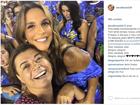 Ivete Sangalo será enredo da Grande Rio no carnaval 2017