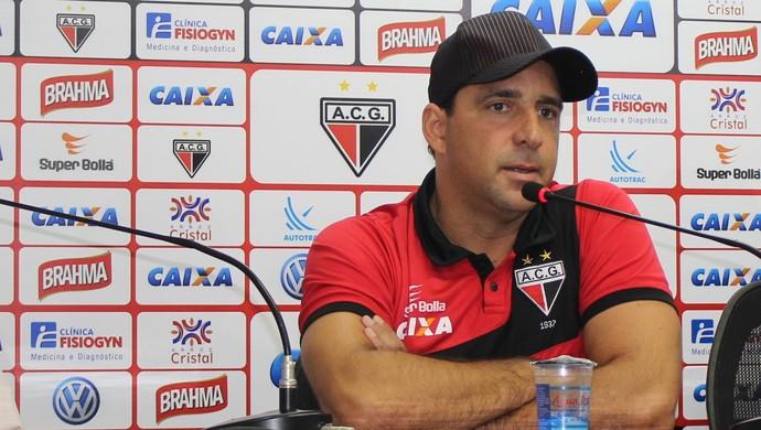 Marcelo Martelotte - técnico Atlético-GO (Foto: Fernando Vasconcelos / GloboEsporte.com)